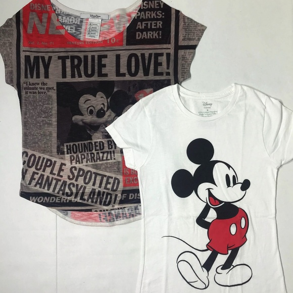 36a4a10f Disney Tops | Xss Lot Of 2 Tshirts Mickey Mouse | Poshmark
